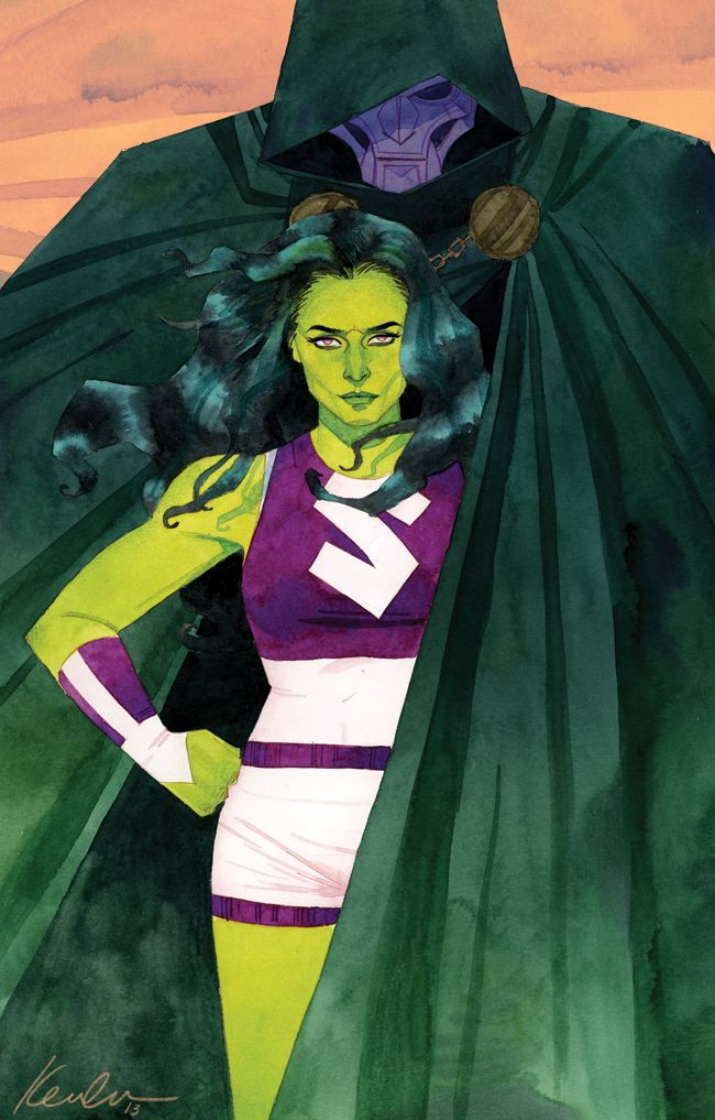 Marvel's released She-Hulk #3 cover. Kevin Wada.