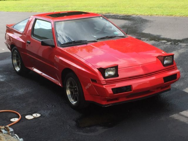 Chrysler Conquest Tsi Mitsubishi Starion Starquest Boosted