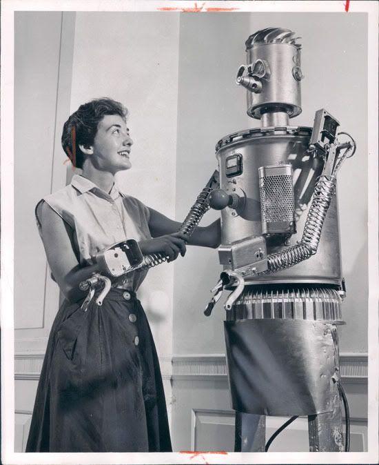 RETRO ROBOTS AND ROBOTIC ART -