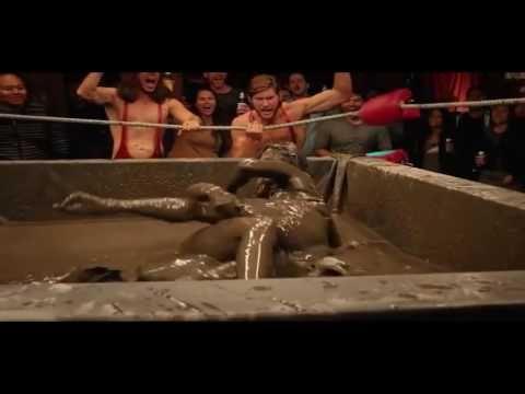 Mud wrestling and rikki love