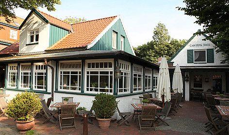 Capitänshaus Spiekeroog   Klassische und moderne Fischküche im stilvol