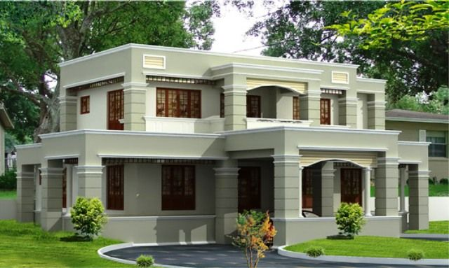 Best colour combination for house exterior in india for Exterior indian house paint