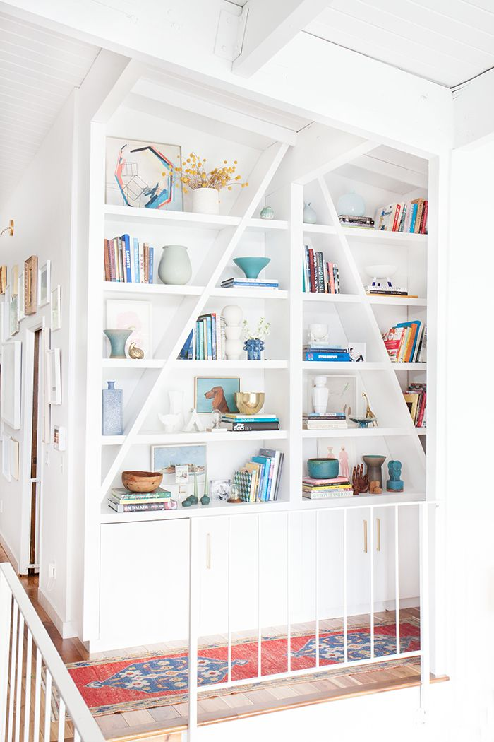 Best blogs for organization interior design diy for Diy modern bookshelf