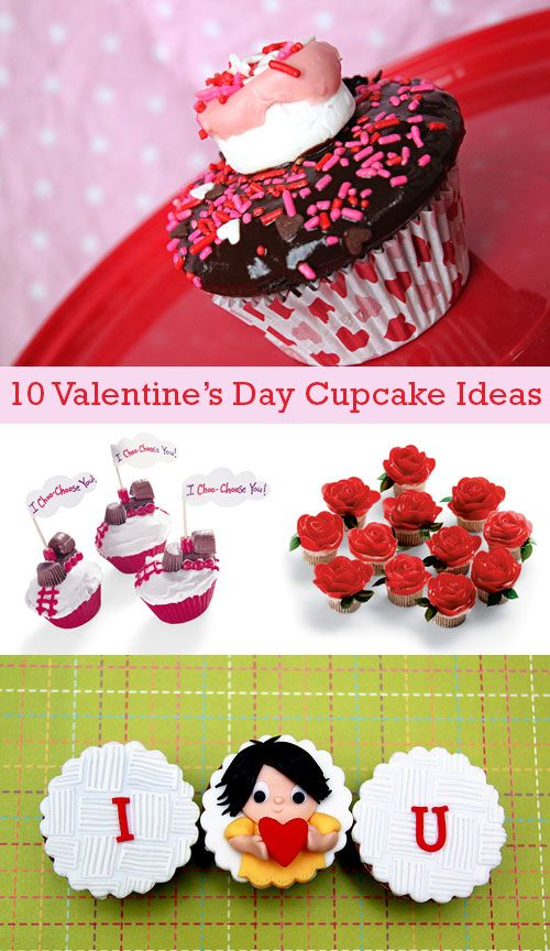 10 Valentine's Day Cupcake Ideas. LivingLocurto.com