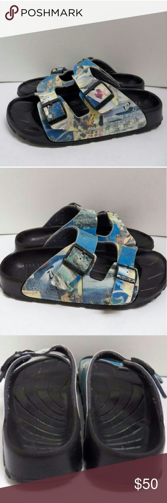Birki's Birkenstock 2 Strap Haiti Sandal Minimal  wear. Few scuffs. Perfect beach shoes. Water proof  polyurethane Footbed Birkenstock Shoes Sandals