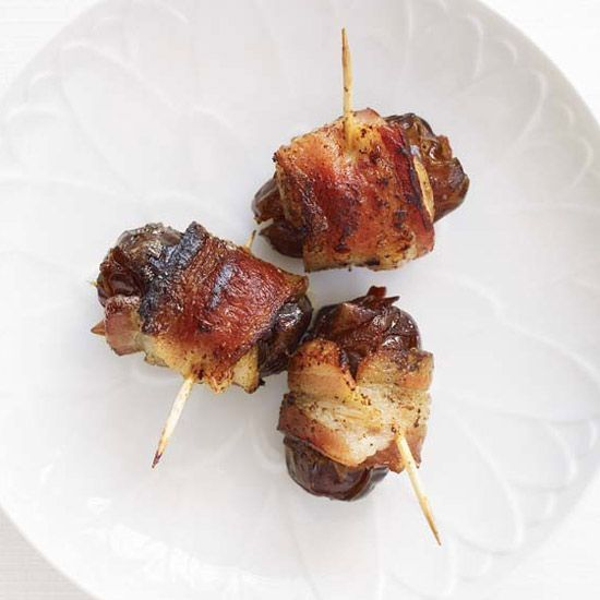 Chorizo-Filled Dates Wrapped in Bacon | This timeless tapa has everything going for it—it's sweet, smoky and savory, all in one bite.