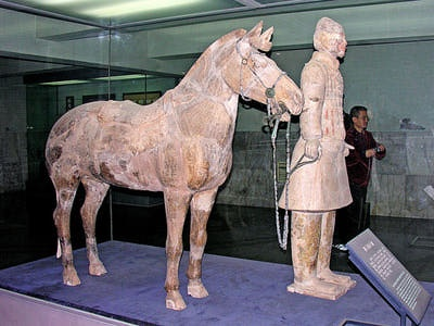 Terra Cotta Warriors - Horseman and Horse