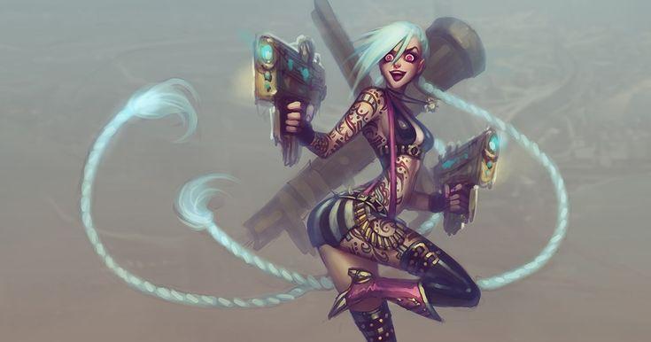 Origins: Jinx http://nexus.leagueoflegends.com/2017/04/origins-jinx/ #games #LeagueOfLegends #esports #lol #riot #Worlds #gaming