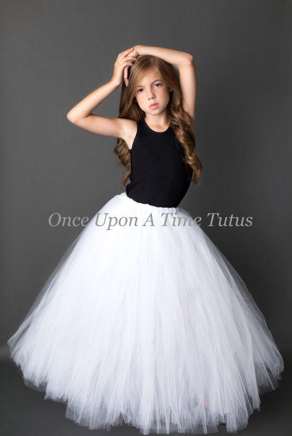 how to make a full length tulle skirt for toddler