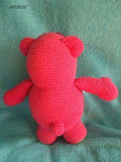 ☆☆☆☆Amicrochet ☆☆☆☆: Mi nueva creacion. El oso Lotso