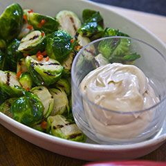 These aren't your grandmother's Brussels sprouts.