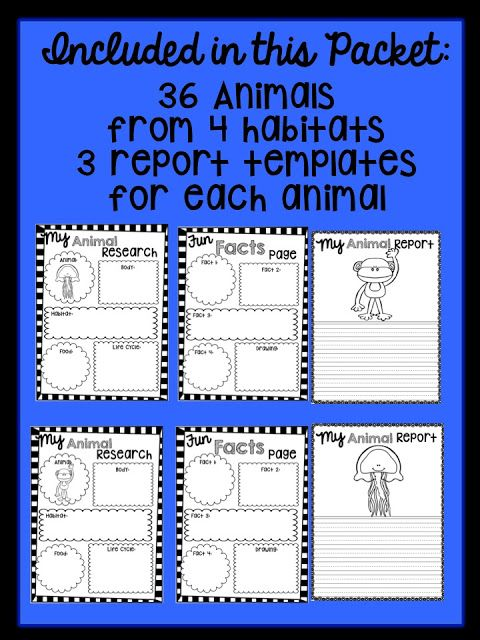 The 25+ best Research report ideas on Pinterest Report writing - animal report template example