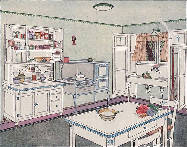 Best 20 1920s kitchen ideas on pinterest 1920s house for Modern 1920 s kitchen