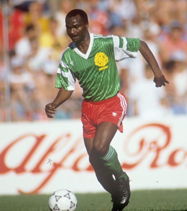 """""""Mas sabe el Diablo por Viejo que por Diablo"""" resa el dicho popular y quien mejor le queda este dicho que a ROGER MILLA, (Camerún) Mundial de Fútbol ITALIA 90"""