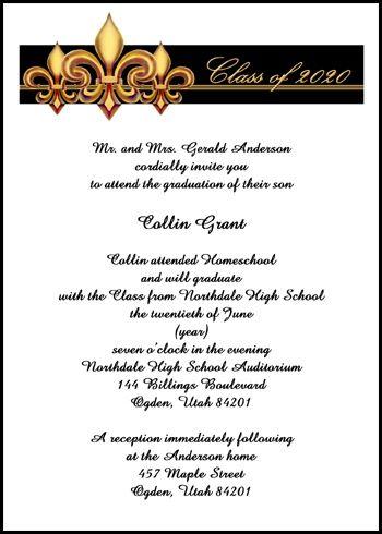 17 best Home Schooling Graduation Announcements Invitations images