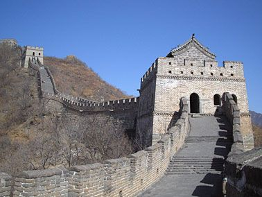 Great Wall of China (长城), China  The Long Wall is really an amazing landmark and today the most celebrated symbol of China. In pre modern times the Great Wall was also recognized as a symbol of the futility and cruelty of the first emperor's political and military ambitions.