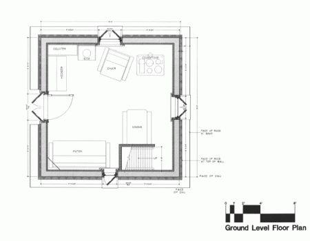 Tiny Mountain Home Fire Tower Design Sewanee Small House