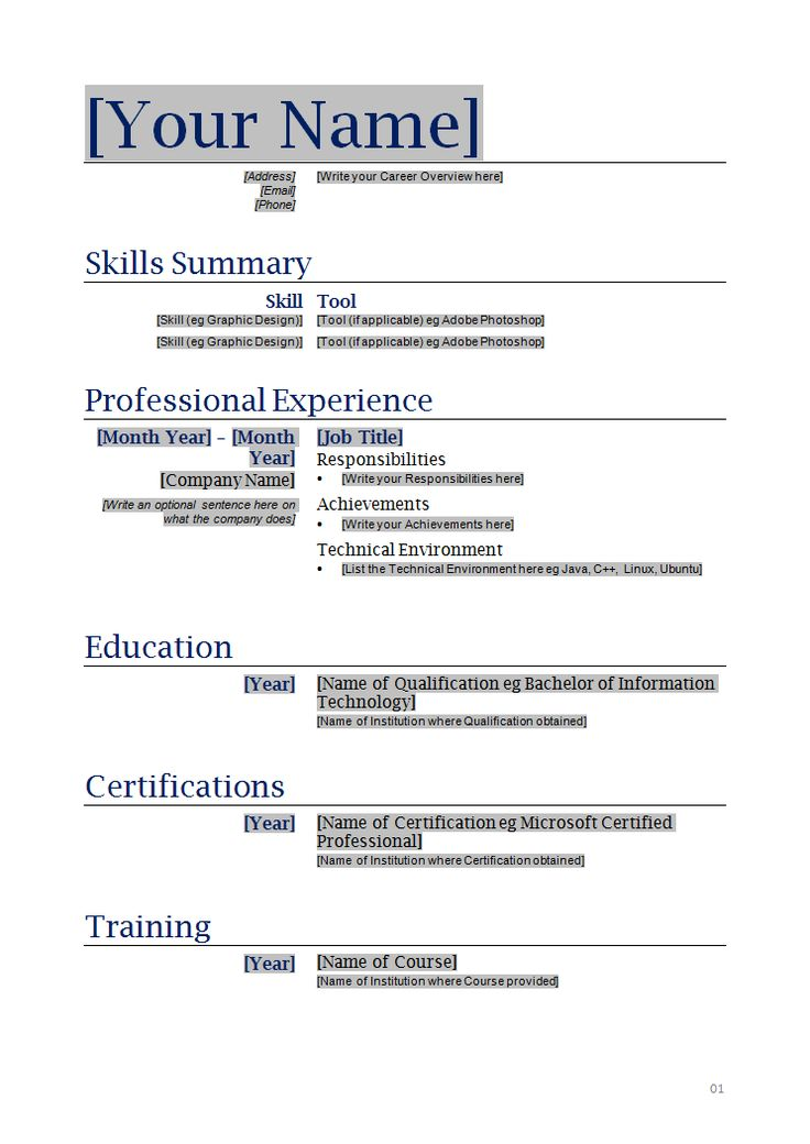 The 25+ best Sample resume templates ideas on Pinterest Free - free templates for resume
