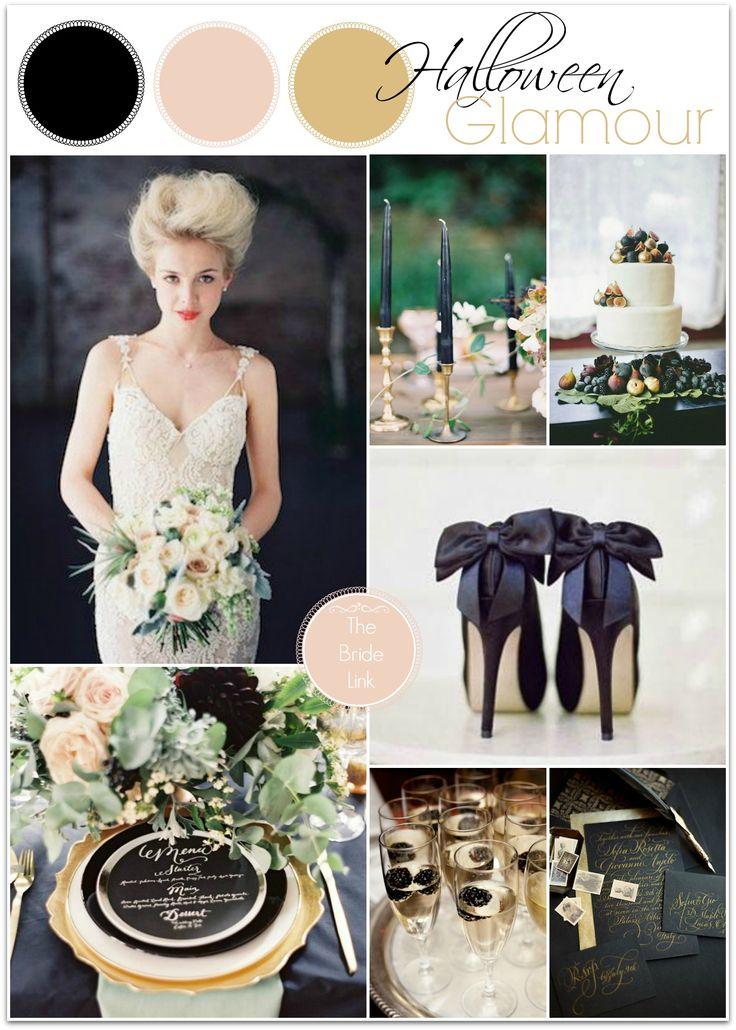 Halloween Wedding Inspiration Wedding Gown: Galia Lahav  http://www.bridalreflections.com/bridal-dress-designers/galia-lahav