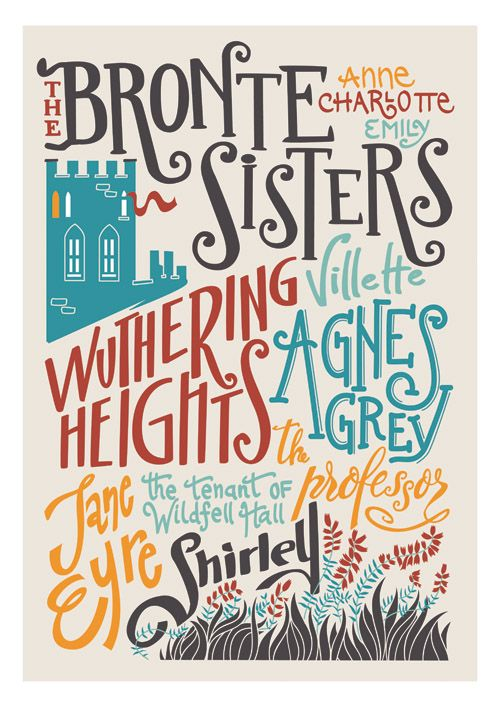 I've read all of these which makes me feel pretty awesome. The Bronte Sisters. #reading, #books, #bronte