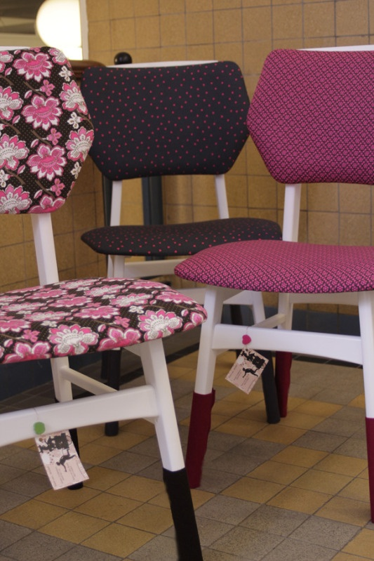 Prachtige opgeknapte stoelen te koop