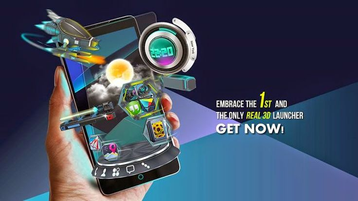Next Launcher 3D Shell v3.16 APK Free Download