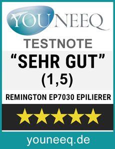 Remington EP7030 Epilierer Test Youneeq