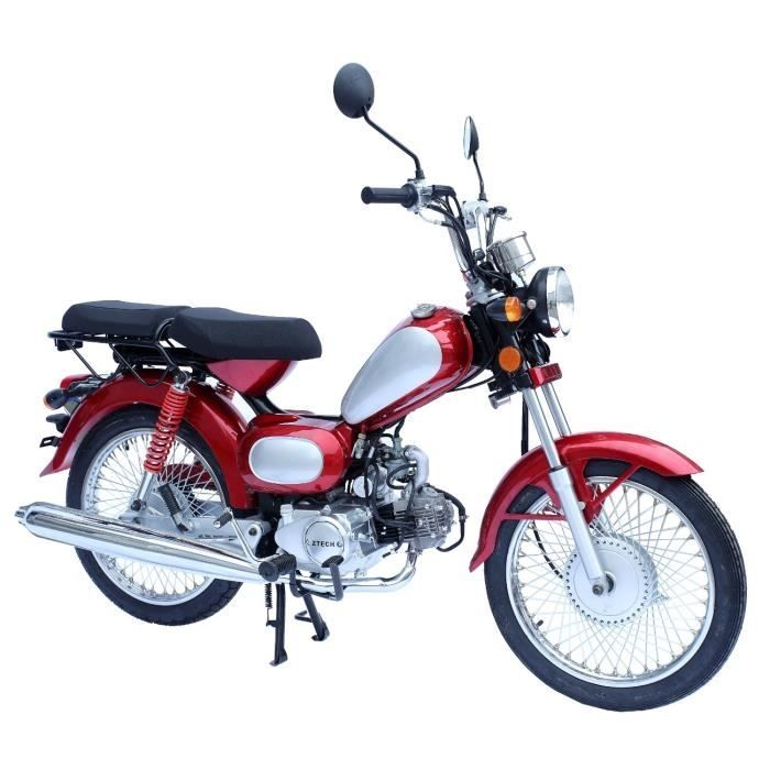 Mobylette 49cc Rouge Diga