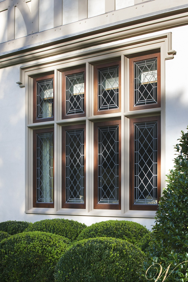 Style home westport ct cardello architects serving westport - Windows Subtle Bespoke Delicate Lines And Elizabethan Style