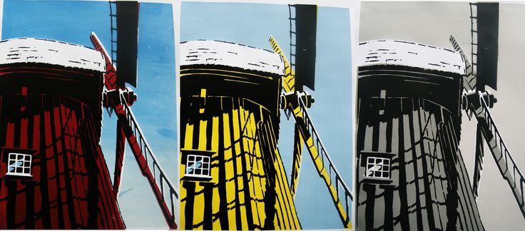 Grafiki powstałe podczas warsztatów serigrafii/sitodruku by Mateusz Żmuda http://www.dobrewarsztaty.pl/serigrafiasitodruk
