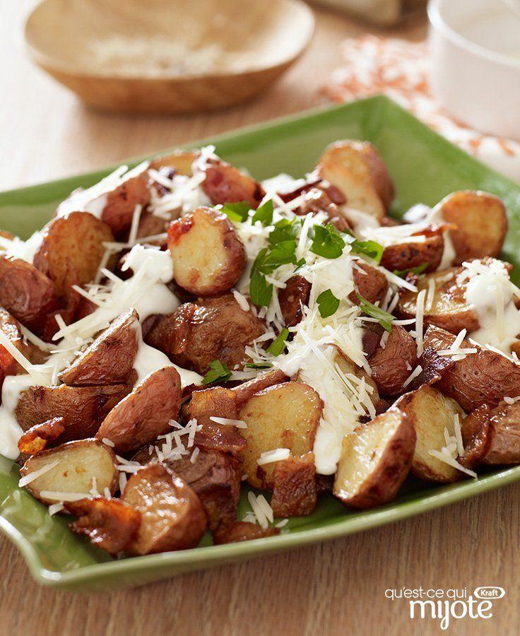 Pommes de terre nouvelles rôties #recette