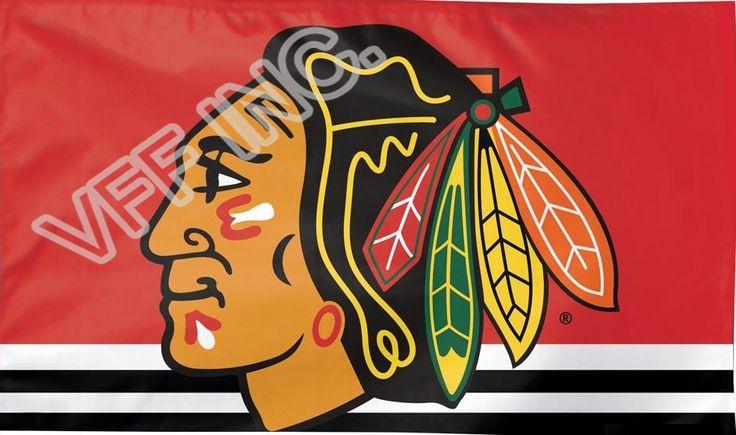 Чикаго Блэкхокс НХЛ Национальная Хоккейная Лига Флаг 3ft x 5ft Полиэстер Баннер Летающий 150*90 см Пользовательский флаг спорт CB5