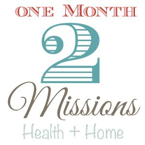 Monthly Challenge - January 2015 - Morganize with Me   Health Focus = Drinking Water {Free Printable} and Home Focus = Bathrooms