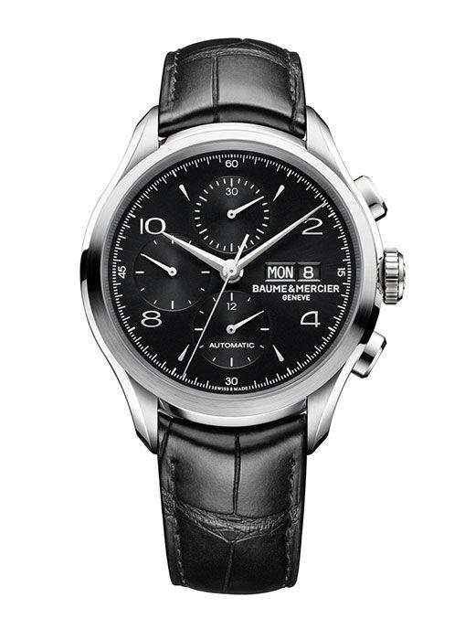 Baume et Mercier Clifton 10211: Black is Beautiful. http://bit.ly/1degUGp