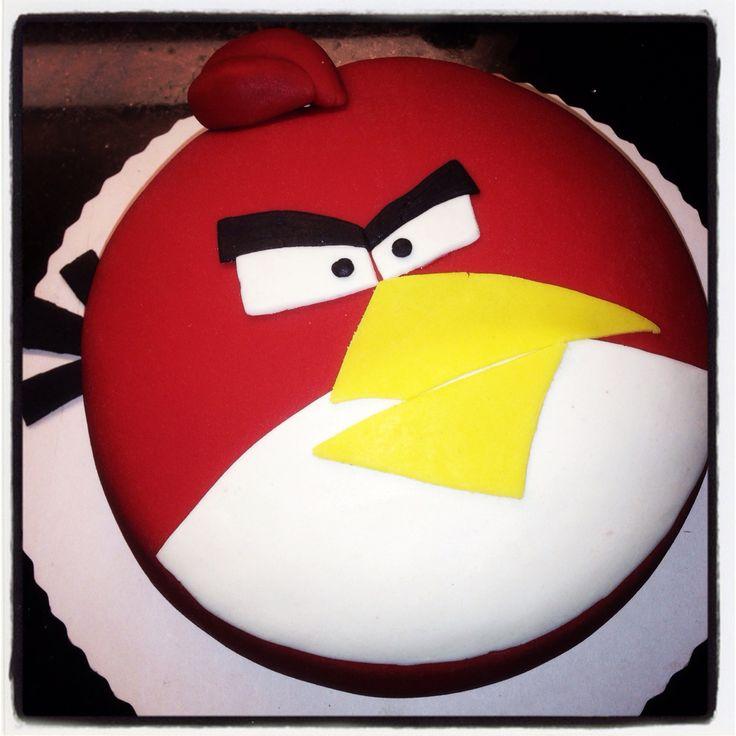 Prinsesstårta a la Angry Bird