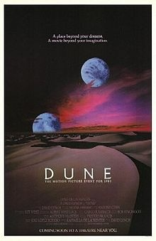 """""""Twin Peaks"""" in space! David Lynch directs """"Agent Cooper"""" as Paul Atreides of Arrakis, a dune world where spice, a substance that does more than blow your nose, is mined. Based on Frank Herbert's first book."""