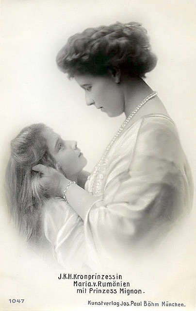 Her Majesty Marie, Queen of Romania & her daughter HRH Princess Mignon