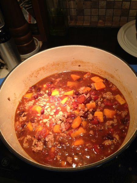 image I have found my new fav chili! Turkey sweet potato chili, it's ...: pinterest.com/pin/421227371369124972