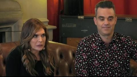 Robbie Williams and Ayda Field on Ant & Dec's Saturday Night Takeaway  Robbie Williams and Ayda Field on Ant & Dec's Saturday Night Takeaway    Ant & Dec's Saturday Night Takeaway this Saturday 4 March at 7pm on ITV.    Watch and embed this video on your website. Simply play and click on the embed icon upper right to copy the embed code.     Robbie Williams and Ayda Field are the first celebrities to face I'm A Celebrity...Get Out Of Me Ear in a brand new series of Ant & Dec's Saturday Night…