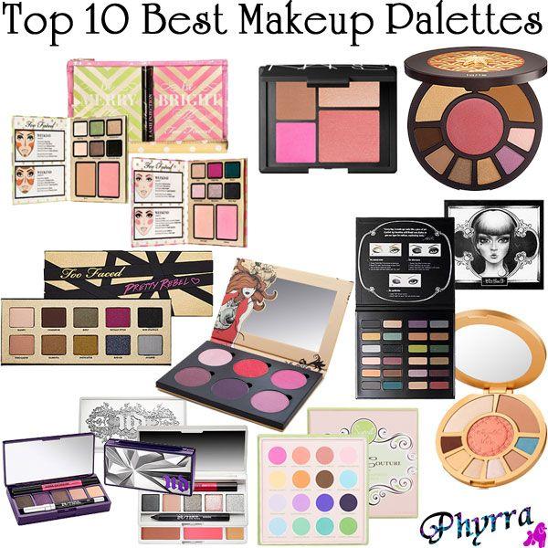 Top 10 Best Makeup Palettes