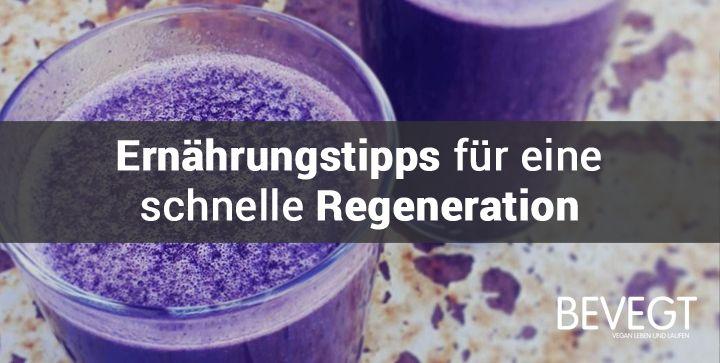 Ernährung und Regeneration: Warum die Dusche nach dem Training warten muss