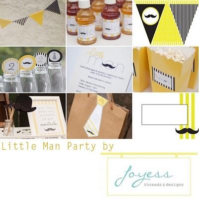 Little Man Party: Theme Birthday Parties, Man Ideas, Parties Printable, Little Man Party, 1St Birthday, Little Man Parties, Parties Ideas, Baby Shower, Birthday Ideas