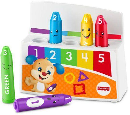 Lizlovelife De leukste verjaardagscadeau's voor kinderen onder de 4 Fisher-Price Leerplezier Kleurige Stemmingskrijtjes