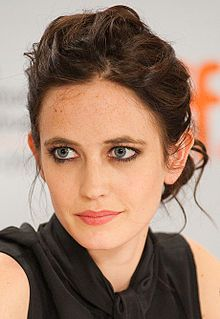 Eva Green(1980) at the 2009 Toronto Film Festival - a French actress and model. She started her career in theatre before making her film debut in 2003 in Bernardo Bertolucci's controversial The Dreamers. She achieved international recognition when she appeared in Ridley Scott's Kingdom of Heaven (2005), and portrayed Vesper Lynd in the James Bond film Casino Royale (2006). In 2006, Green was awarded the BAFTA Rising Star Award.
