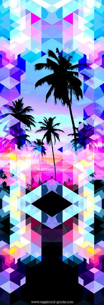 Venice Palm Yoga Mat ©