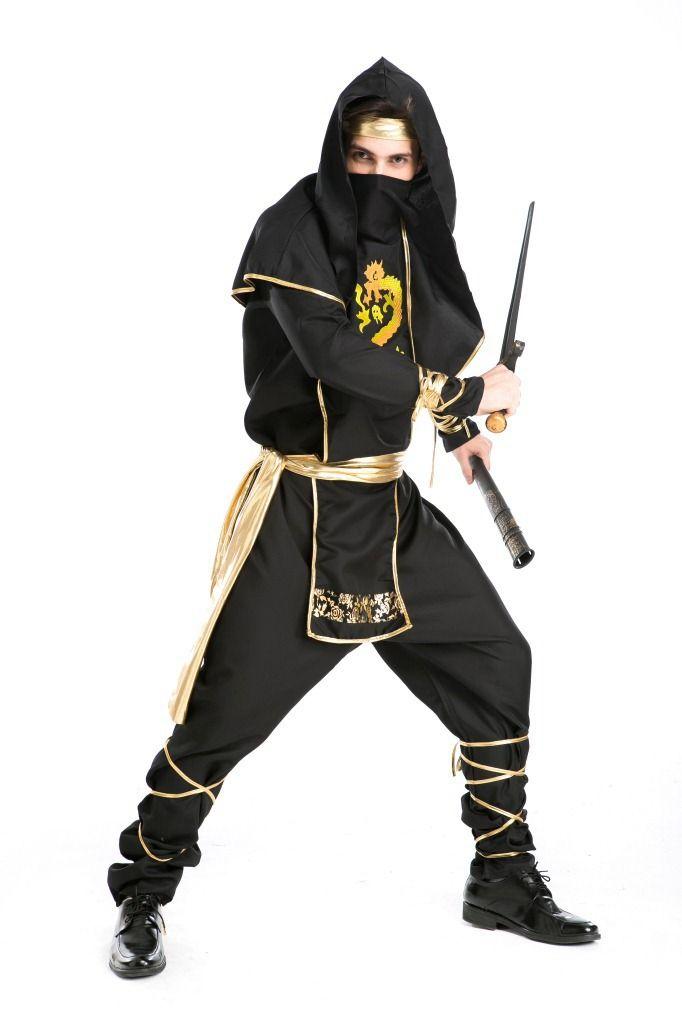 Япония воин мужская ниндзя костюма взрослых ролевая игра воин хэллоуин костюмы карнавальные ну вечеринку косплей экипировка Partysuit