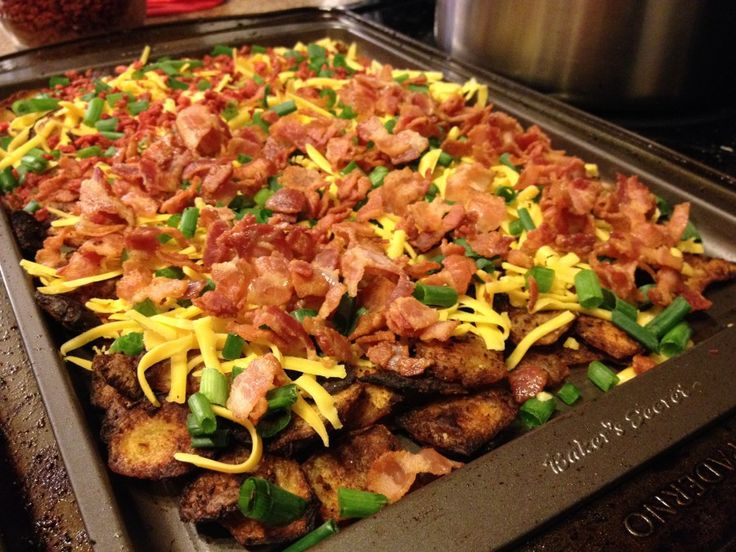 Crispy Loaded Potato Skins (Mic Mac Tavern Copycat Recipe)
