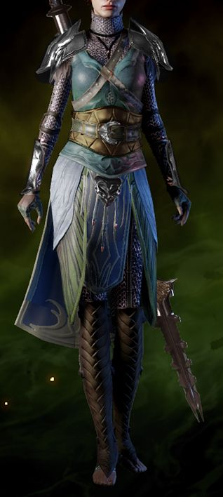Ancient Elven Robes is a unique light armor in Dragon Age: Inquisition.