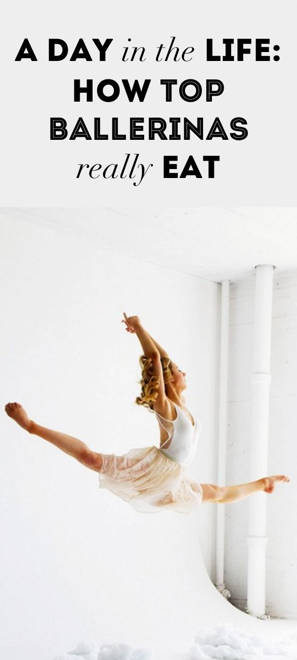 A Day in the Life: How Top Ballerinas Really Eat