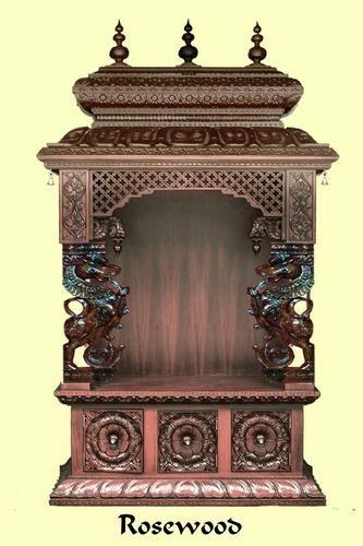 wooden crafts | Wooden Craft Pooja Mandir,Madurai,Tamil Nadu,India,ID: 1407723973